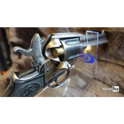 Beau Revolver 38 Long Colt état mécanique parfaite Cat D2 // #2