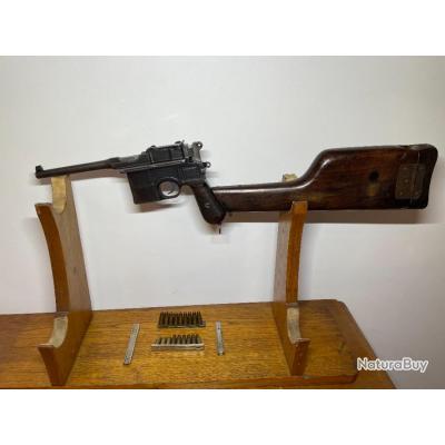 Pistolet MAUSER C96 cal 7.63x25 mauser en excellent état