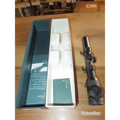 Lunette Swarovski Z6 1-6X24 Ret 4-I L Diam 30 génération 1 en très bon état  + montage Weaver