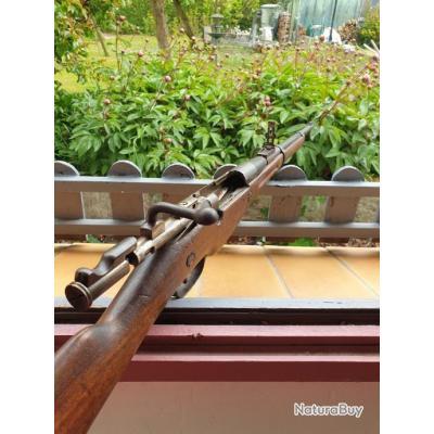 Rare mousqueton Berthier modèle 1892,daté de l'année 1892,en calibre 8 mm Lebel d'origine.