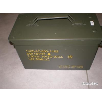 Caisse de 308 WIN GGG 147 GR x 640