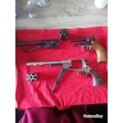 Vend lot d armes pn euroarms cal 44 plus lot de matériel