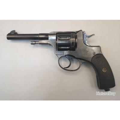 Très beau revolver Nagant 1898 Catégorie D
