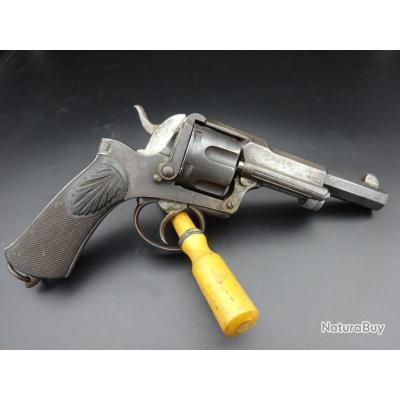 Beau revolver Fagnus Maquaire en calibre 11 mm 73