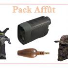 PACK AFFUT CANNE DE PIRSCH + APPEAUX + CASQUETTE FILET + TELEMETRE OFFRE SPECIALE FETE DES PERES