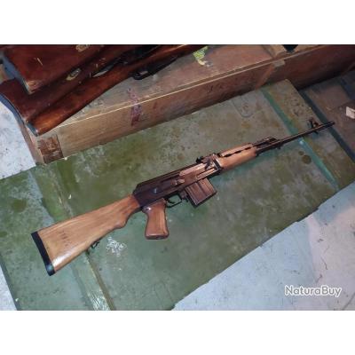 FUSIL AK ZASTAVA M76, CAT C REPETITION MANUELLE, CALIBRE 308 à 1€ SANS PRIX DE RESERVE !