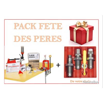 Kit complet de rechargement LEE avec presse Mono station Pack fête des père.