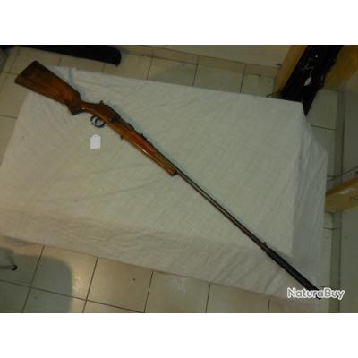 carabine avec silencieux