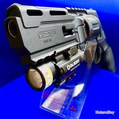 Pack UMAREX T4E HDR 50 avec KIT 20J + munitions + 100 CO2  + laser OLED pro USA ...catégorie D