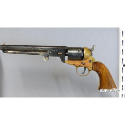 Défectueux, incomplet // Cat D // Revolver Euroarms Navy ; 36 Black Powder  (1€ sans réserve)