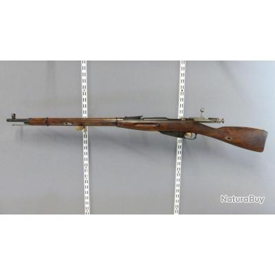 Carabine Mosin Nagant 91/30 Russe (Tula) ; 7,62x54 R  (1€ sans réserve)