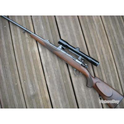 Mauser type M 98 artisanale calibre 7 x 64 avec Zeiss 1.5 - 6 x montage à crochets