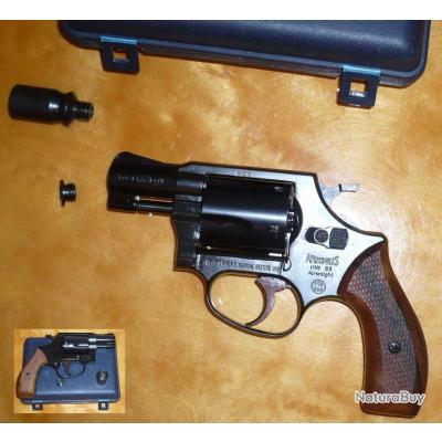 Revolver d'alarme Arminius HW88 SUPER Airweight, cal. 9mm RK, BE