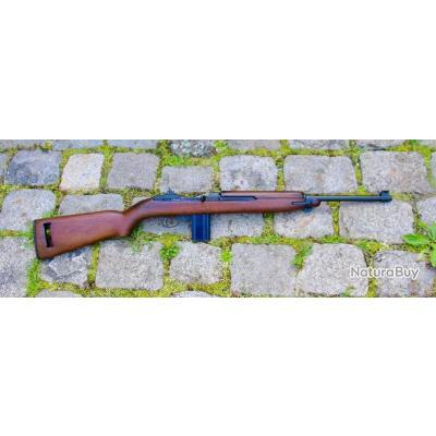 carabine USM1 originale WW2 cat C  en 2+1 de marque ROCK OLA de 1943 CAL 30 CARBINE