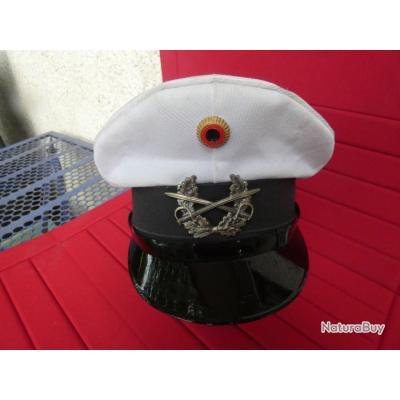 casquette d'été Allemande de la Heer, Wehrmacht, époque  après guerre
