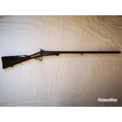 Beau fusil à broche cal.16