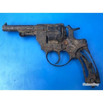 Revolver réglementaire 1874 de fouille inapte au tir