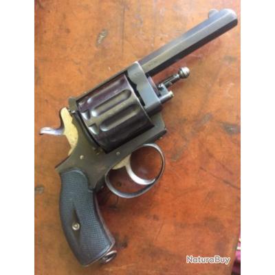 revolver «l'explorateur» de la Manufacture de St Etienne , Cal 6mm / 12 coups circa 1900