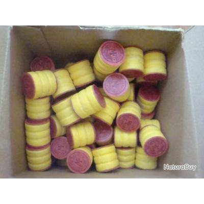 Boîte de 200 bourres grasses de calibre 16 MANUFRANCE (2)
