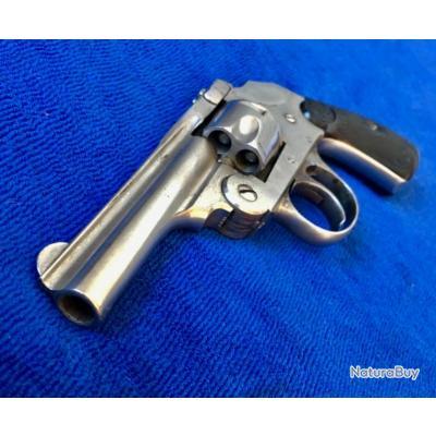 catégorie D REVOLVER IVER & JOHNSON 32 Smith & Wesson short + kit de munitions