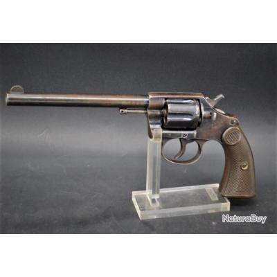 COLT NEW POLICE 1898 REVOLVER 6 POUCES Calibre 32 Smith & Wesson long de 1904 - US XIXè Très bon  U.