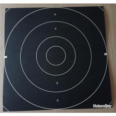 Lot de 250 centres/visuels de cible vitesse olympique 26 × 26 cm GEF