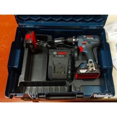 Visseuse perceuse Bosch Pro GSR 18v-28 + pack Batteries