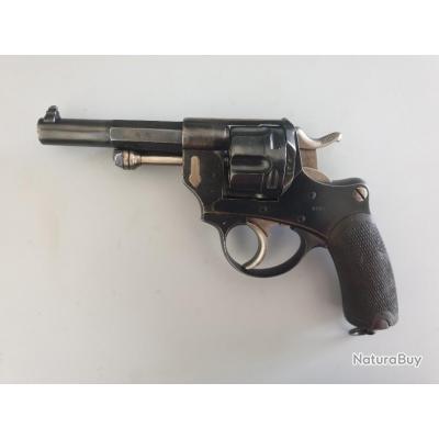 """Revolver réglementaire Modèle 1874 de Marine, calibre """"12 mm"""""""