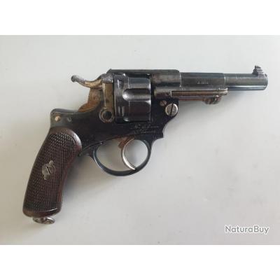 Revolver 1874 officier, le plus petit numéro connu, calibre 11,73