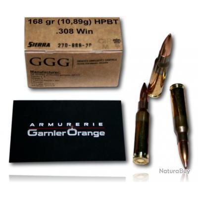 308 WIN GGG HPBT 168GR SIERRA
