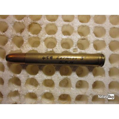 """cartouche calibre 458 express 3"""""""
