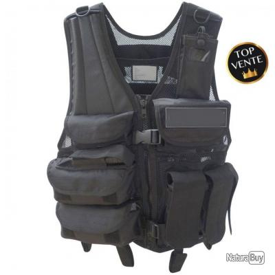 Gilet Force multipoches