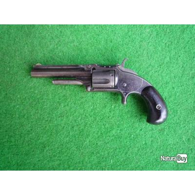 Revolver Smith & Wesson N°1, Old Model, 1855.