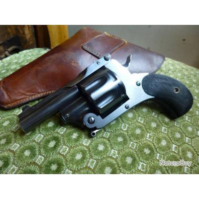 """à l'état neuf = rare revolver """"l'explorateur"""" de la """"manufacture française d'armes de Saint-Etienne"""""""