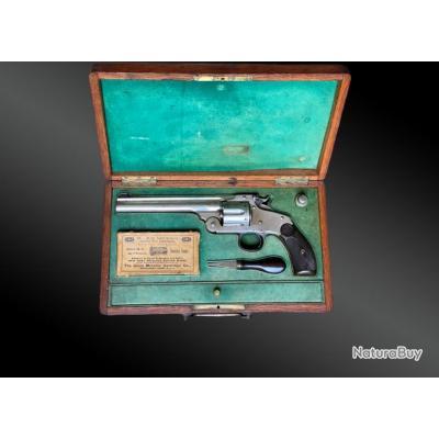 Coffret Nécessaire Revolver Smith Et Wesson Frontier, New-model N°3 Target.