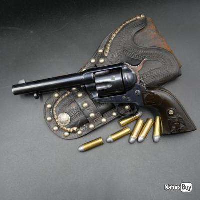 Revolver US Army Colt Peacemaker SAA 1873 fabrication 1890 calibre .45 Single Action Army