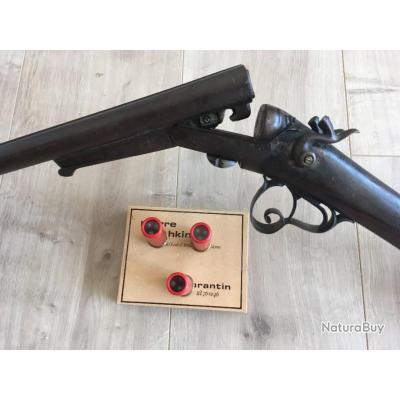 Vintage Fusil a chien  fonctionnel cal 16 fermeture Lefaucheux  en vente libre aux enchères à 1€