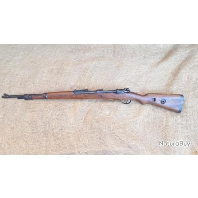Mauser 98k 98 k ww2 monomatricule bnz 42 marquage sur le côté ss2  8x57 js