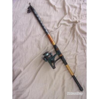 canne à pêche avec moulinet 3,50 m