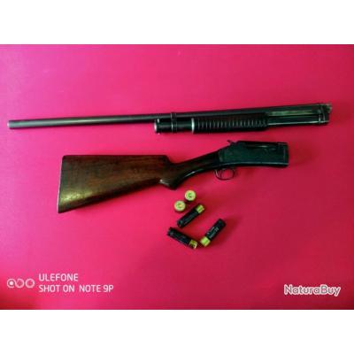 Superbe Winchester 1897 !  Shotgun calibre 12 takedown catégorie D