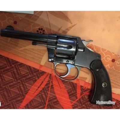 RARE MAGNIFIQUE COLT NEW POLICE TARDIF 38S&W Apte à la Pv