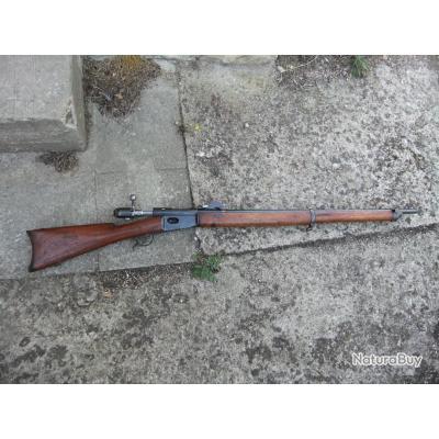 fusil réglementaire suisse waffenfabrik à bern modèle 78 + photo+rephoto