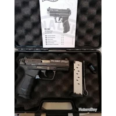 Umarex Walther Pk380 9mm pak avec 2 chargeurs