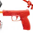 Pack Pistolet type NERF Rekt opsix Rouge + 6 fléchettes