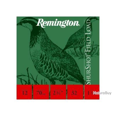 1 BOITE DE 25 CARTOUCHES REMINGTON SHURSHOT GS 12/70 PLOMB 5 STOP AFFAIRE