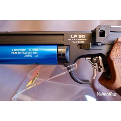 """Pistolet à air STEYR LP50 Modèle 2017: Poignée """"M"""" pour le standard, la précision et la vitesse-"""