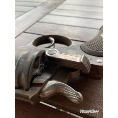 Revolver à poudre noire 11mm de 1879 , revolver ordonnance manufacture St Étienne , état super