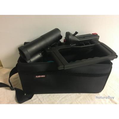 Flash Ball + 12 munitions + sac de transport