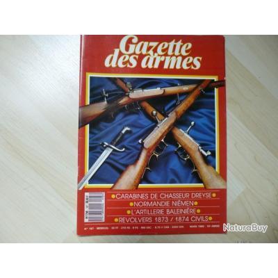 une revue gazette des armes numéro 187