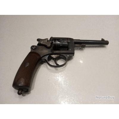 Revolver 1892 civil fabrication stéphanoise 8/92